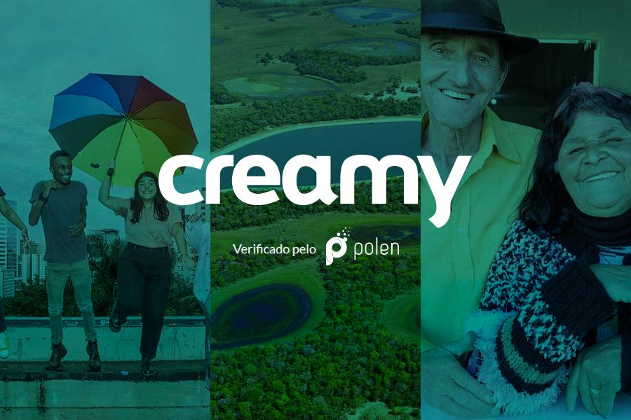 Como a Creamy transforma cada compra em uma ação social?